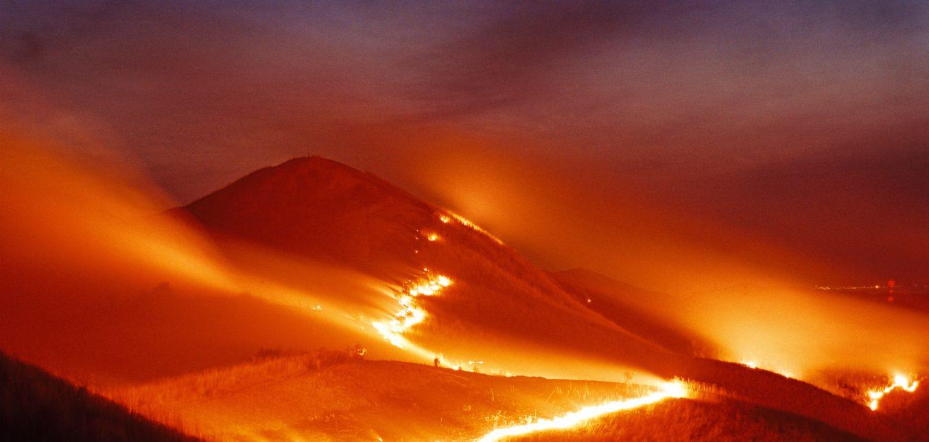 嘘でしょ!?自然発火が原因で山火事になるの?
